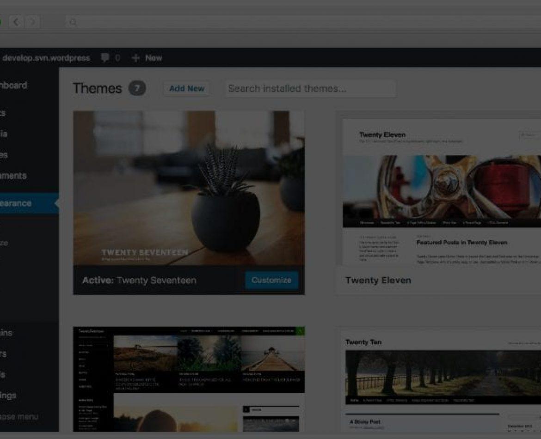 Stage a WordPress Website